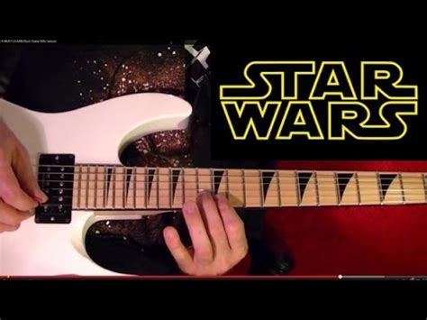 main hati guitar tutorial star wars main theme guitar lesson youtube