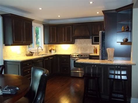 dark maple kitchen cabinets crw ottawa custom kitchens cabinets