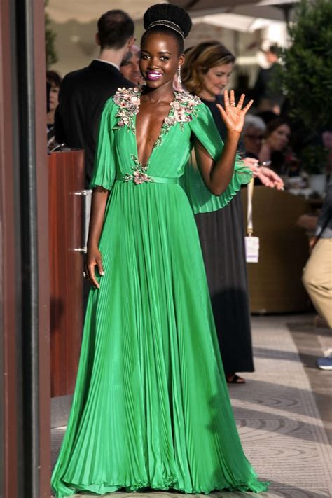 Lupita Dress lupita nyongo in green dress 03 gotceleb