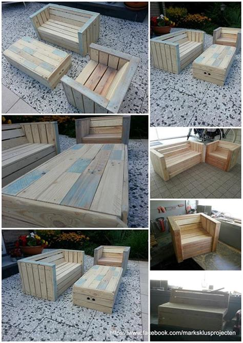 Chairs Made Out Of Pallets by Outdoor Furniture Made With Pallets Pallets Patio