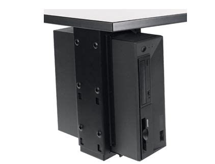 under desk cpu holder under desk cpu holder with slide swivel populas