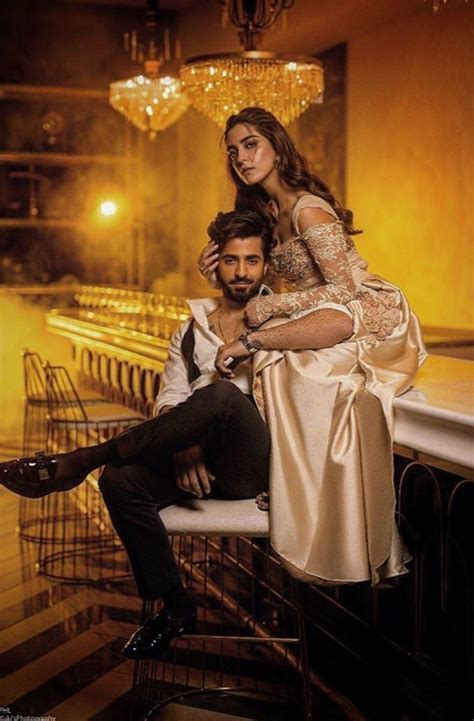 Latest Photoshoot of Maya Ali and Shehryar Munawar for