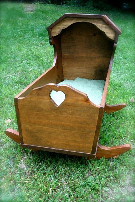 Handmade Wooden Cradle - vintage handmade wooden cradle bassinet baby cradles