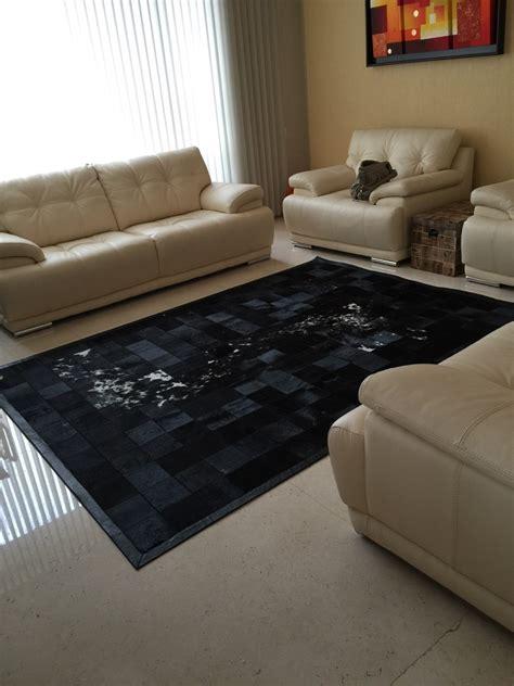 alfombra de cuero alfombra de cuero curtido en pelo 11 500 00 en mercado