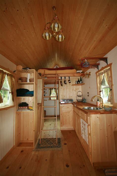 tumbleweed homes interior yellow littleyellowdoor