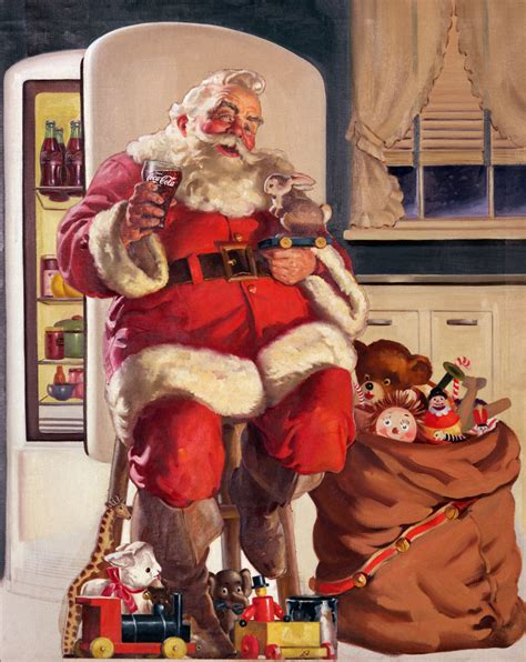 vintage santa claus pics to celebrate st nick day