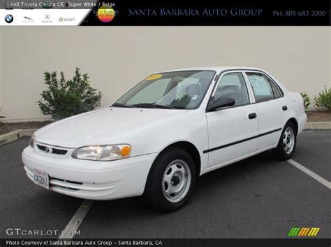 1998 Toyota Corolla Change 1998 Toyota Corolla Ce In White Photo No 67930931