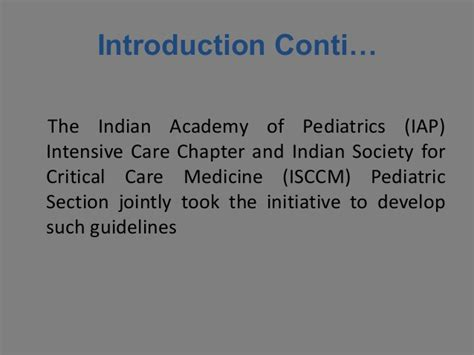 Section On Pediatrics by Admission And Discharge Guidelines For The Pediatric