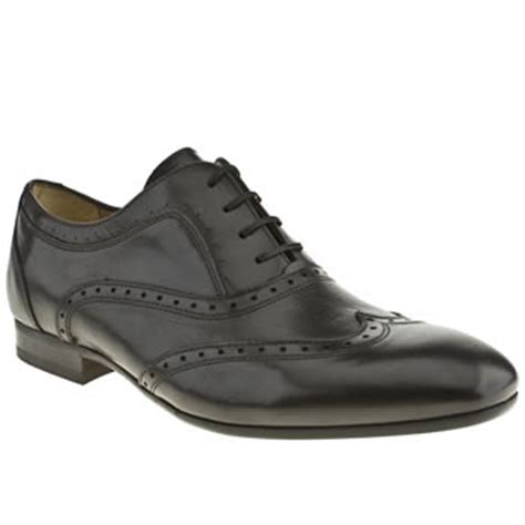 schuh shoes oxford mens h by hudson black rene oxford brogue shoes