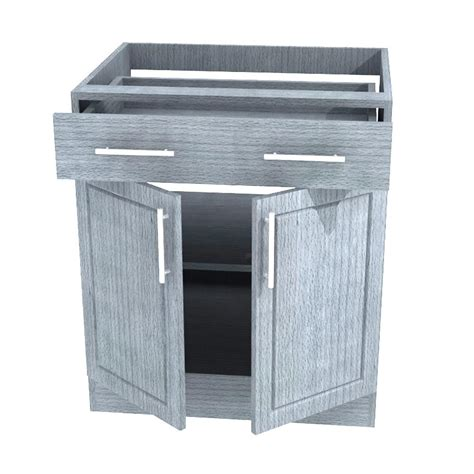 outdoor kitchen base cabinets weatherstrong assembled 30x34 5x24 in palm beach open
