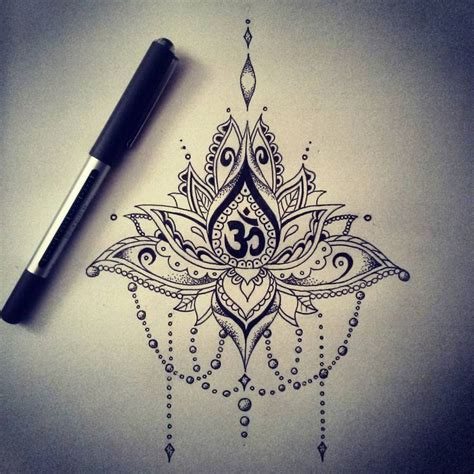 25 best ohm tattoo ideas on pinterest lotus mandala