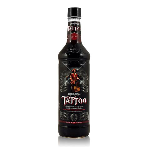 tattoo rum captain 0 7l 35 vol captain rum