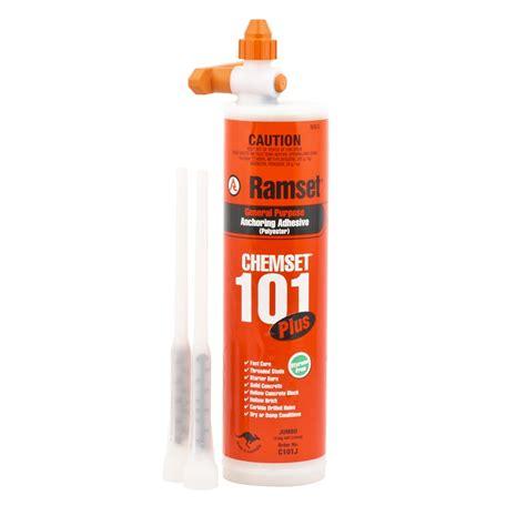 Chemical Ramset ramset 750ml chemset 101 masonry anchoring adhesive cartridge