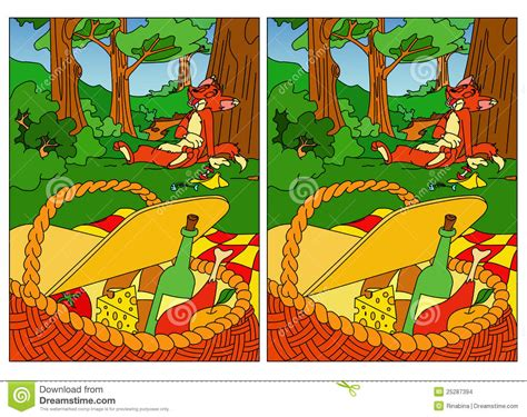 Find Pictures Find Differences Stock Images Image 25287394