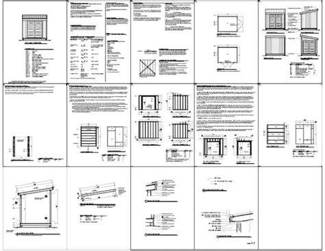 shed plans 10x10 unfinished chellsia