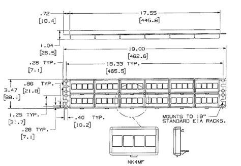 panduit keystone wiring diagram 28 images panduit