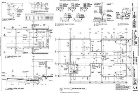 loading dock section technical brett barbour design
