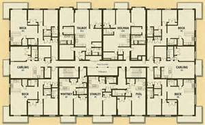 Floor Plans Of Apartments Apartment Building Floor Plans Apartment Building Floor