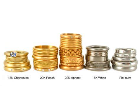 different colors of gold kaia joyas el oro y sus colores