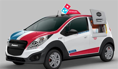 Pizza Auto by Domino S Unveils Special Pizza Delivery Car