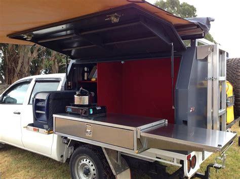 aussie rv oztoolbox camper aluminium canopy camper ute