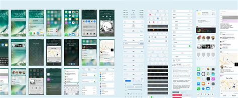 The Ultimate Ios 10 Gui Kit For Sketch Photoshop And Adobe Xd Hongkiat Free Xd Templates