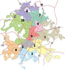 Austin District Map by The More Maps The Merrier A Brief Introduction To The