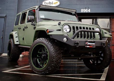 amber rose jeep amber rose army green jeep the news wheel