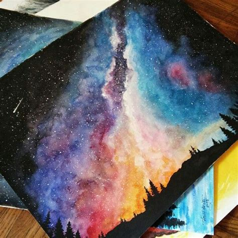 acrylic paint universe 25 best ideas about galaxy painting on galaxy