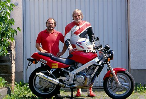 antwortschreiben auf lob motorrad und umwelt honda 650 hawk frohnmeyer weltweit erste vergaser maschine mit g