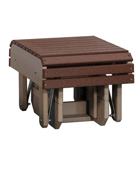 outdoor glider with ottoman glider ottoman outdoor furniture furniture haus