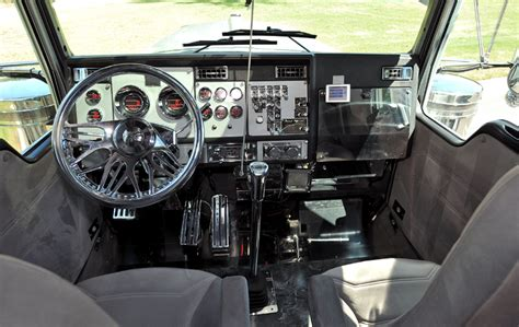 Truck Interior by Kenworth Trucks Interior