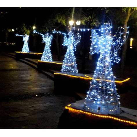 Lighted Decorations Outdoor Lighted Angel Outdoor Christmas Decorations Buy Lighted