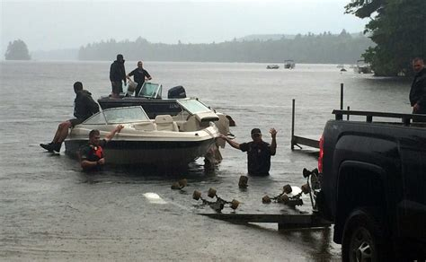 public boat launch york maine three sent to hospital after boat crash on thompson lake