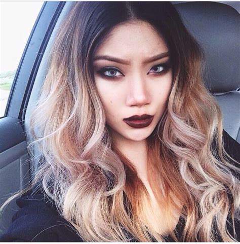 black roots to honey blonde beauty face pinterest
