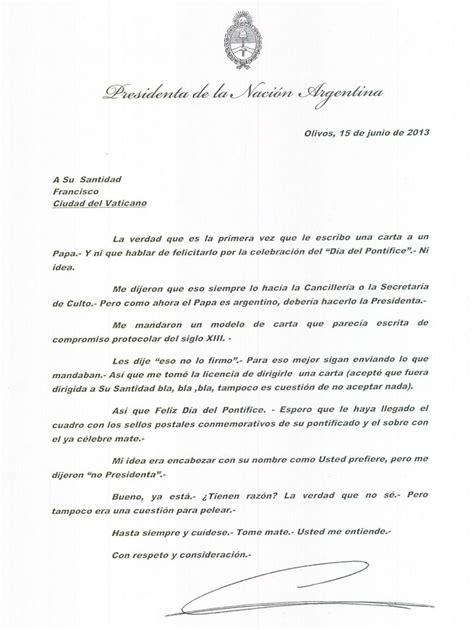 Modelo Curriculum Acompañante Terapeutico La Esperp 233 Ntica Carta De Felicitaci 243 N De Cristina Kirchner Al Papa Francisco Rel