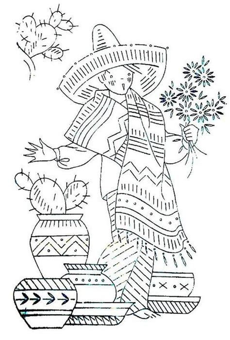 mexican boy coloring page mexican boy in traditional outfit at fiesta coloring page