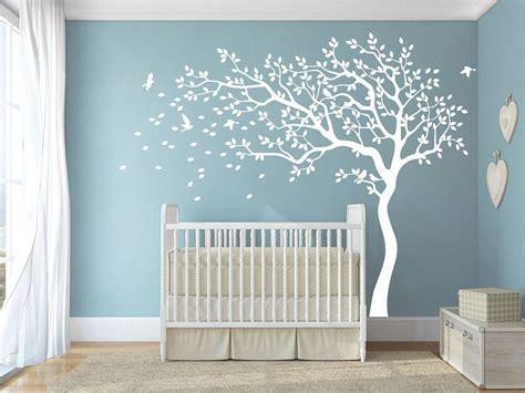 Wandtattoo Kinderzimmer Baby Junge by Wei 223 Baby Kinderzimmer Baum Wandtattoos Amazingdecals