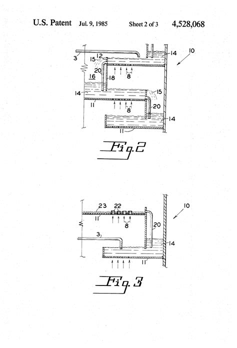 Patent US4528068 - Tray apparatus for deasphalting and