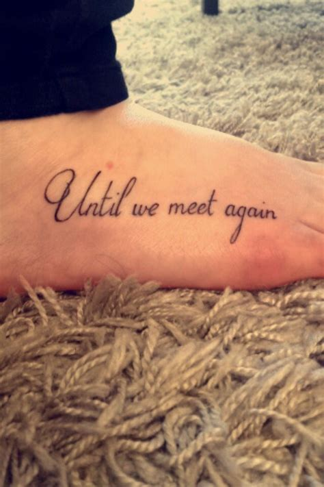 infinity tattoo until we meet again 168 best images about tattoo ideas on pinterest infinity