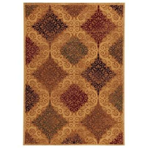 hom world rugs home decorators collection celestial multi polypropylene 7 ft 10 in x 10 ft area rug