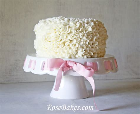 online tutorial cake decorating messy ruffles cake decorating video tutorial