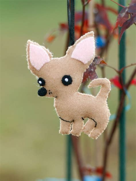 xbox 360 christmas ornament felt chihuahua for livy felt crafting chihuahuas for dogs and felt