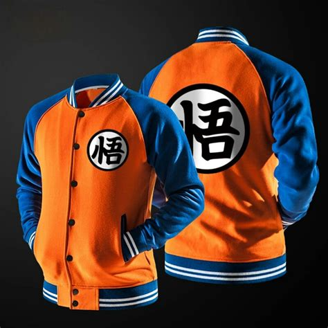 dragon ball kanji wallpaper goku jacket sudadera chamarra dragon ball 960 00 en