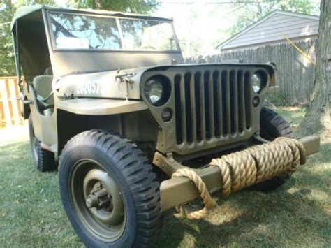 Ford Ww2 Jeep Buy Used 1943 Ford Jeep Gpw One Of Most