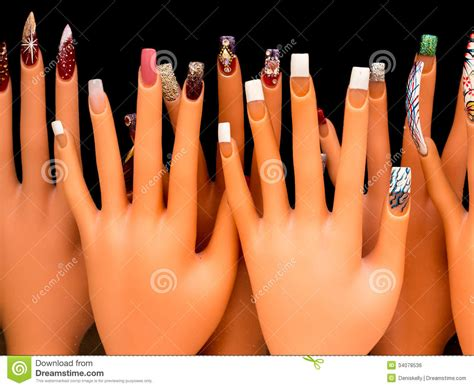 nail painting for free nail royalty free stock image image 34078536