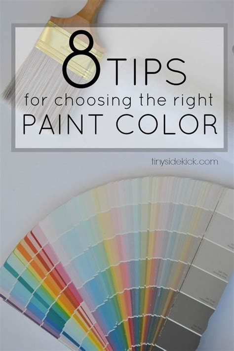tips for picking paint colors 8 tips for choosing the right paint color paint colors