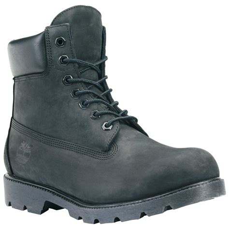 boot style for timberland mens icon 6 inch work boots style 19039 black