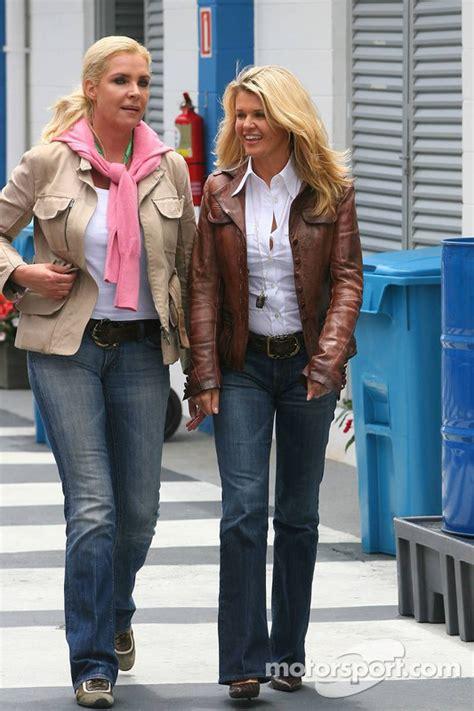 Corina Schumacher, wife of Michael Schumacher at Brazilian GP