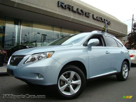 lexus light blue 2010 lexus rx 350 awd in cerulean blue metallic 009550